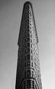 Gregory Dyer - New York City Flat Iron Building in black and White