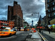 Taxis Photos - New York City - Greenwich Village 015 by Lance Vaughn