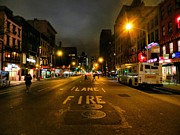 City Streets Photo Originals - New York City - Greenwich Village 017 by Lance Vaughn