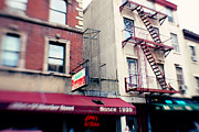 New York City Prints - New York City Johns Pizzeria Print by Kim Fearheiley