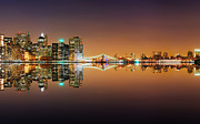 Photographs Digital Art - New York City Lights by Sanely Great