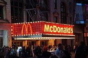 Mcdonalds Art - New York City Mcdonalds by Thomas Fouch