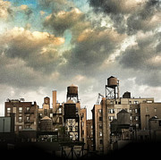 Tower Prints - New York City Rooftops Print by Amy Cicconi