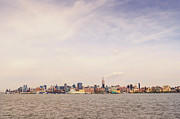 Urban Photos - New York City Skyline and the Hudson River by Vivienne Gucwa