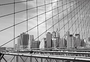 New York City Skyline Print by Louis Scotti
