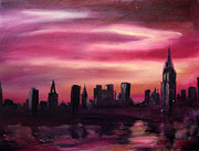 MonaNina Studios - New York City Skyline