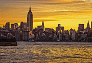 New York City Skyline Originals - New York City Skyline by Zbigniew Krol