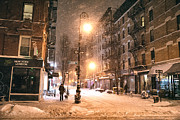 Vivienne Gucwa - New York City - Snow -...