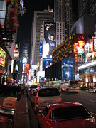 New York City - Times Square - 121224 Print by DC Photographer