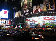 Times Prints - New York City - Times Square - 12126 Print by DC Photographer