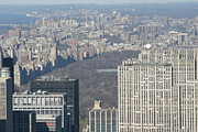 New York City - View From Empire State Building - 121211 Print by DC Photographer