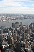 Empire Art - New York City - View From Empire State Building - 121220 by DC Photographer