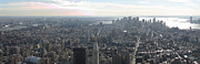 Empire Photo Framed Prints - New York City - View From Empire State Building - 121235 Framed Print by DC Photographer
