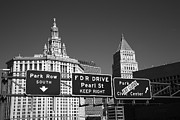 Fdr Drive Prints - New York City with Traffic Signs Print by Frank Romeo