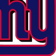 New York Giants Football 2 Print by Tony Rubino