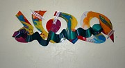 Moving Sculpture Prints - New York Graffiti Print by Mac Worthington