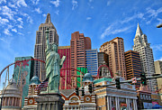 Tropicana Las Vegas Prints - New York in Vegas by Diana Sainz Print by Diana Sainz