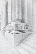 Stephen A. Schwarzman Building Framed Prints - New York Library Columns Framed Print by Susan Candelario