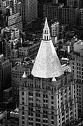 Manhaten Prints - New York Life Insurance Co Building Print by Joe Fox