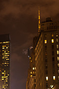 Άγιος Νικόλαος Prints - New York Night Print by Paul Mangold