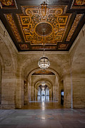 Stephen A. Schwarzman Building Framed Prints - New York Public Library Corridor Framed Print by Susan Candelario