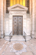 Stephen A. Schwarzman Building Posters - New York Public Library Entrance I Poster by Clarence Holmes