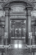 Rose Main Reading Room Prints - New York Public Library Main Reading Room Entrance II Print by Clarence Holmes