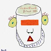 J Burns - New York Robot Head