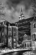 The Church Photo Framed Prints - New York Scene Framed Print by John Farnan