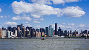 New York City Skyline Photos - New York Skyline 1 by Hung Lui