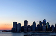 Diane Lent - New York Skyline at...