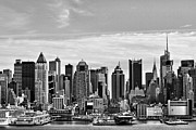 Hi-rise Framed Prints - New York Skyline Framed Print by Geri Scull