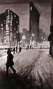 Paul Mitchell Art - New York Snow by Paul Mitchell