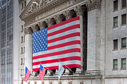 Enterprise Metal Prints - New York Stock Exchange III Metal Print by Clarence Holmes