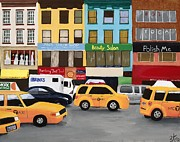 Zoe Kellett - New York Street Scene