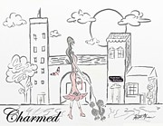 New York Stroll Print by Kristie Mercer