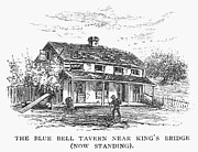 1876 Prints - NEW YORK: TAVERN, c1725 Print by Granger