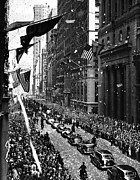 Ticker Tape Parade Posters - New York Ticker Tape Parade Poster by Andrew Fare