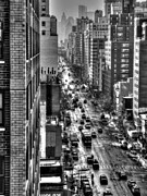 Metropolis Prints - New York TM 003 Print by Lance Vaughn