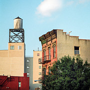 New Ideas Prints - New York Water Tower 3 Print by Gary Heller