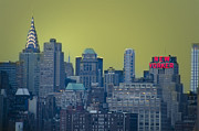 Chrysler Building Digital Art Prints - New Yorker Print by Bill Cannon
