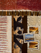 Postage Art - New Zealand by Carol Leigh