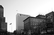 Nj Photos - Newark  New Jersey in Black and White by Paul Ward