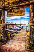 Paul Velgos - Newport Beach Dory Fishing Fleet Market Photo