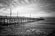 Paul Velgos - Newport Beach Pier Black...