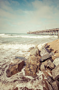 Paul Velgos - Newport Pier Rocks Retro...