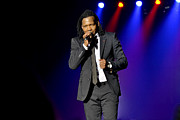 Michael Photo Framed Prints - Newsboys - Michael Tait Framed Print by John Melton