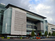 Newseum Art - Newseum in Washington DC by Lingfai Leung