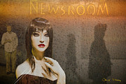 Bureau Prints - Newsroom Print by Chuck Staley