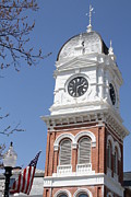 Small Towns Metal Prints - Newton County Courthouse Metal Print by Cathy Lindsey